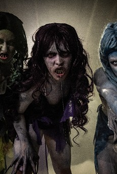 The sirens from SeaWorld's just-announced Howl-O-Scream attraction.