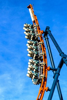 Ice Breaker will send riders up a 93-foot-tall spike that reaches a 100-degree angle.