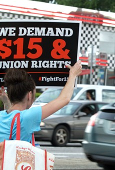 Florida's minimum wage to jump to $10 per hour this week