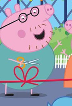 Peppa Pig Theme Park will open in February of next year.