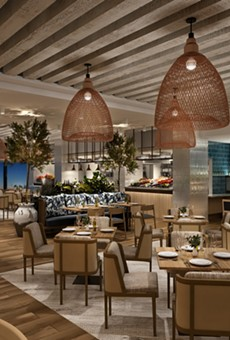 Interior rendering of Amare at the new Swan and Dolphin Reserve.