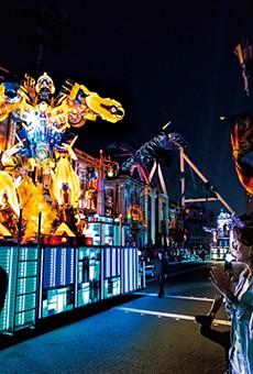 Universal's Spectacle Night Parade at Universal Studios Japan