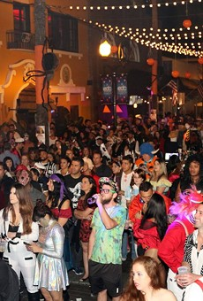 Wall Street Plaza gets back at it this weekend with Plazaween.