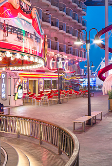 The Boardwalk neighborhood on Royal Caribbean's Symphony of the Seas