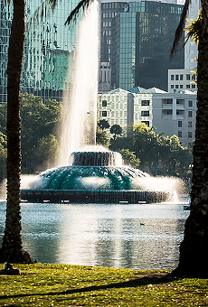 Lake Eola Fountain now only plays 'Smooth' by Santana ft. Rob Thomas