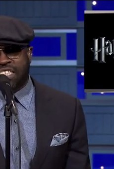 Black Thought from the Roots on the Tonight Show