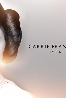 Watch this touching Carrie Fisher tribute video from Star Wars Celebration