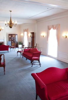 The American Adventure Parlor; a private event space inside Epcot