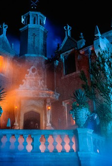 Rumors point to a possible Haunted Mansion restaurant at Magic Kingdom
