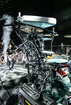 Blink 182 to play the Central Florida Fairgrounds tonight