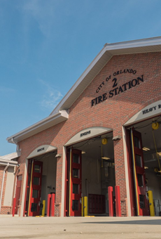 The City of Orlando needs ideas for an art installation at this new fire station