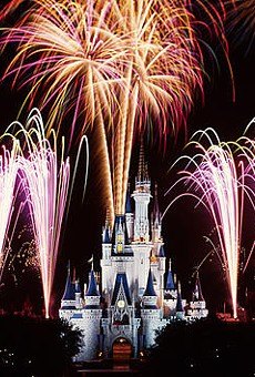 Tonight is the last 'Wishes' firework show at Disney World