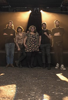 Sheer Mag blend politics and power-rock at Will's Pub