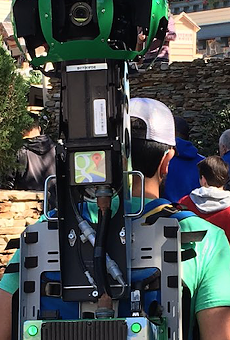 Google Street View backpacks spotted in the Magic Kingdom