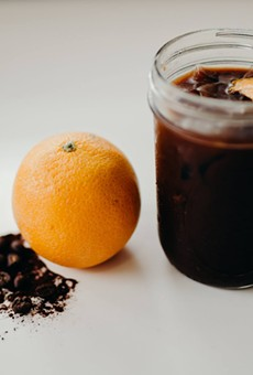 Valencia orange mocha cold brew
