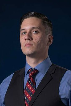 Goat blood-drinking white nationalist from Orlando runs for Senate in Florida