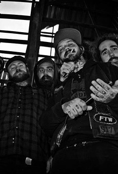 Southern gothic standouts the Goddamn Gallows play Will's Pub this week