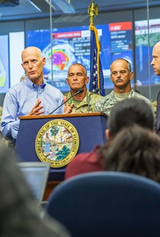 Rick Scott tells Floridians to 'go now' if evacuating before Hurricane Irma