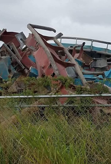 Here's what's left of Universal's Dragon Challenge coaster