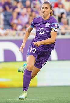 Orlando Pride star Alex Morgan booted from Disney World after being 'highly impaired'