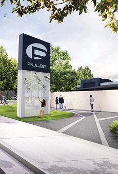 A rendering of the Pulse interim memorial