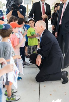 Gov. Scott calls for increased security funding at Jewish day schools