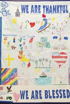Orange County transfers comfort quilt received after Pulse to Las Vegas