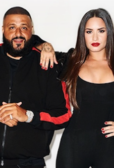 Demi Lovato and DJ Khaled