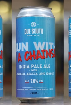 A South Florida brewery is giving Miami's chainsaw-wielding nun her own beer