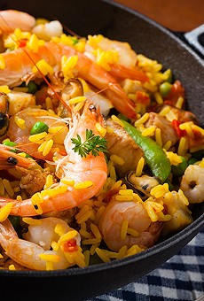 Pair some paella with your pinot at a special pop-up dinner at Nora's Sugar Shack