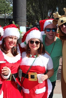 SantaCon turns Thornton Park into a wasted winter wonderland this weekend