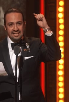 Lin-Manuel Miranda launches petition to tie Puerto Rico help to tax bill