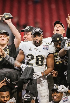 UCF will celebrate 'national championship' tonight in downtown Orlando