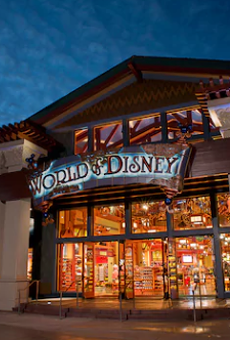 The World of Disney shop at Disney Springs
