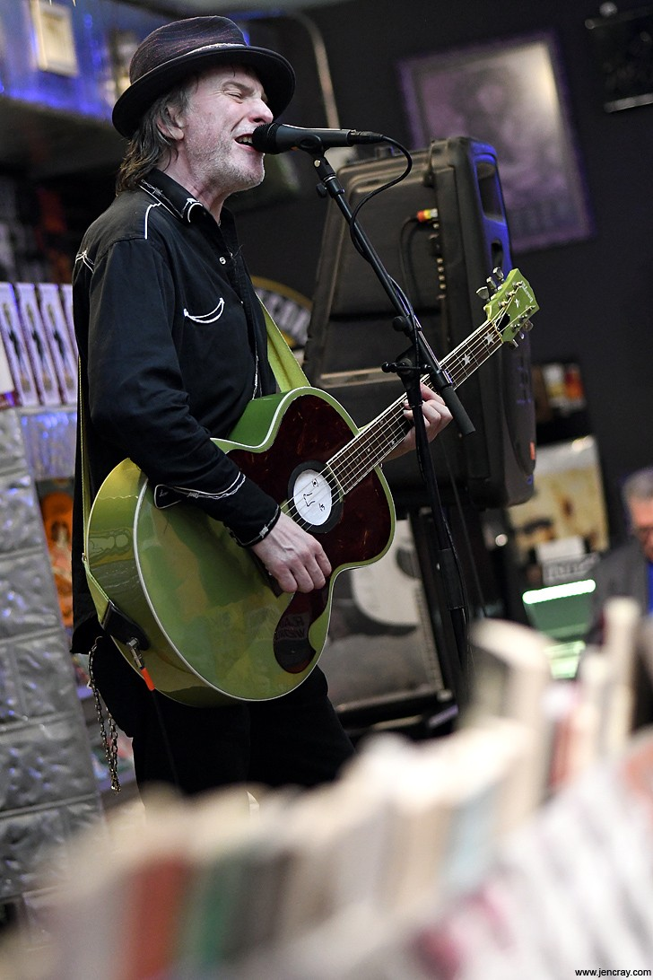 Tommy Stinson returns and gets up close at Park Ave CDs with