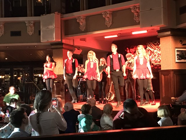 One Heck of a Hooley show at Raglan Road