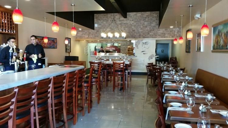 Interior of Maestro Cucina Napoletana/Antonio's - FAIYAZ KARA