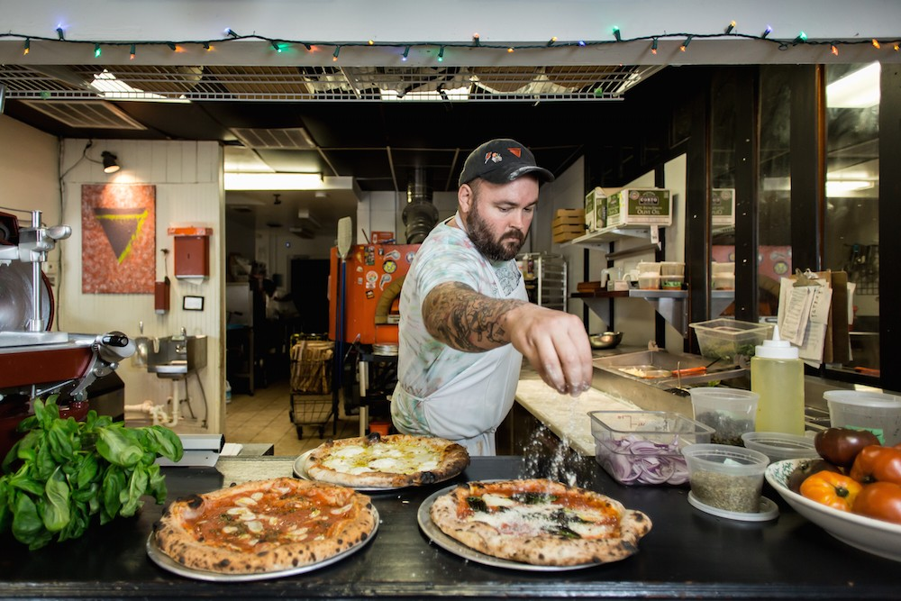 pizza bruno and cask larder plan tuesday tap takeover in honor of