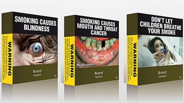 EUROPEAN UNION CIGARETTE PACKAGING: NOT SO APPEALING.