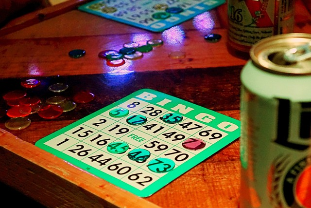Nadeem's Cheap Assed Bingo at Will's Pub - JIM LEATHERMAN