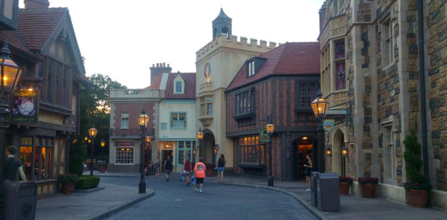 The United Kingdom pavilion at Epcot - IMAGE VIA GEARS | TWITTER