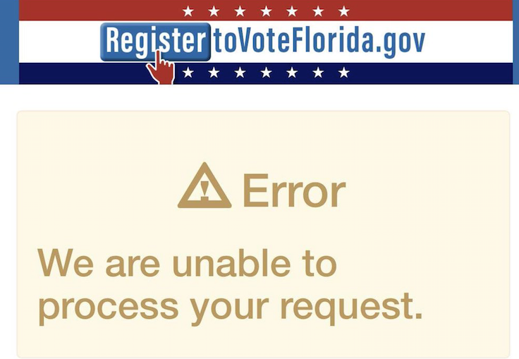 SCREEN GRAB VIA REGISTERTOVOTEFLORIDA.GOV