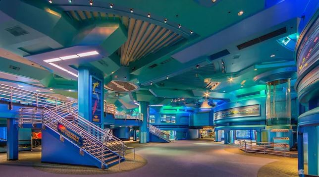 Inside the Seas with Nemo and Friends pavilion at Epcot - IMAGE VIA DISNEY