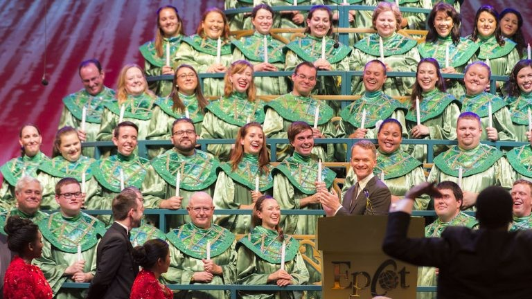 Disney Epcot Christmas Processional 2021 Disney S Candlelight Processional With Neil Patrick Harris Will Be Livestreamed For The First Time Ever Blogs
