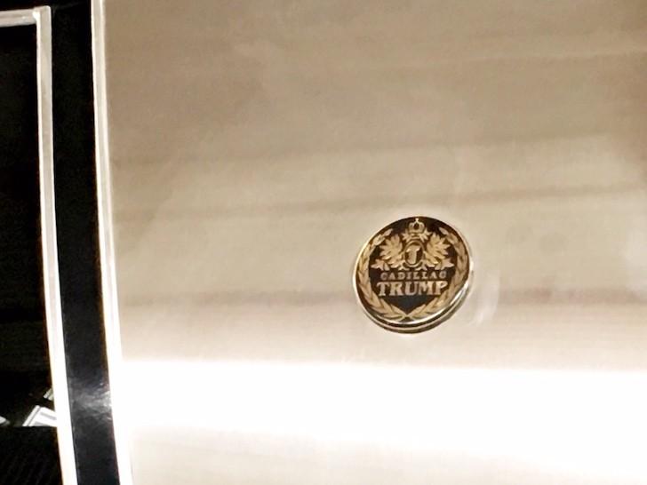 Dezer's Trump limo - PHOTO BY PAUL BRINKMANN