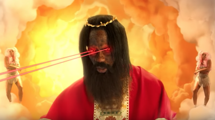 """PHOTO FROM """"STOP TRYING TO BE GOD"""" VIA TRAVIS SCOTT/YOUTUBE"""