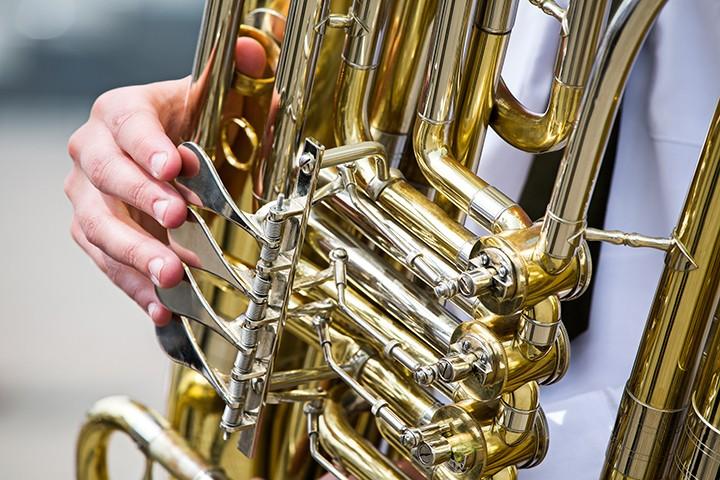 Tuba Christmas.Winter Park S Central Park Gets Brassy For A Merry Tuba