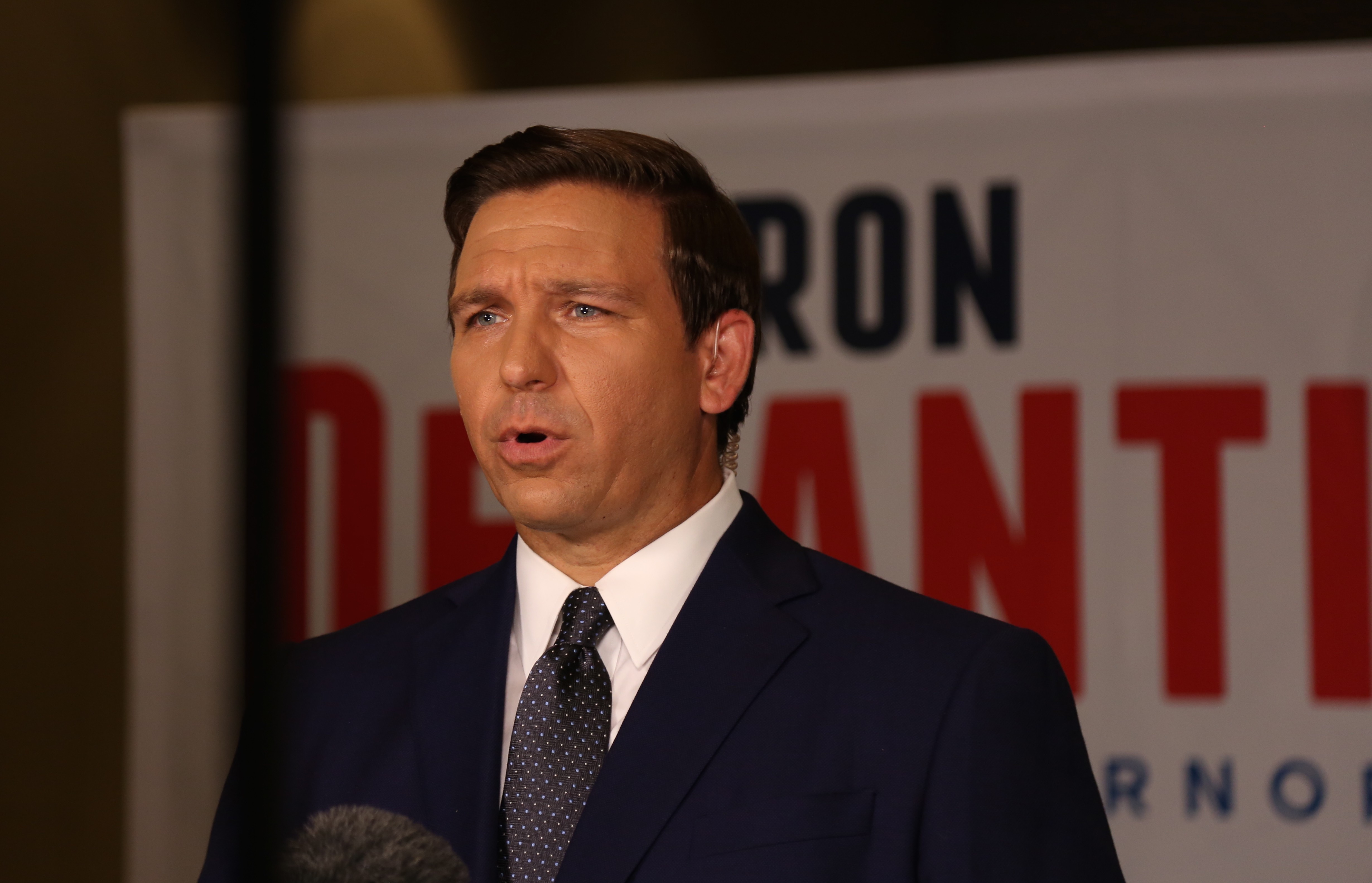 Ron DeSantis is using a plane seized in a drug bust to
