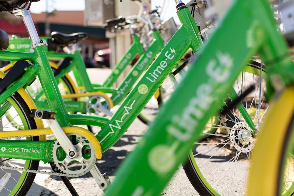 Dockless Lime bikes are suddenly everywhere  Are they Orlando's