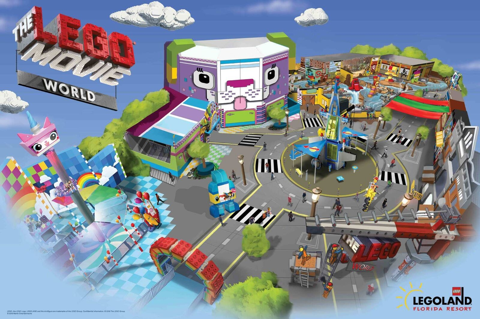Everything Will Be Awesome When Legoland S New Lego Movie World Opens This March Blogs